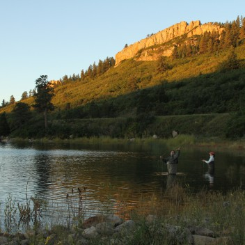 Lake Fork cabin rentals, Colorado